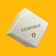 <strong>StoryBox</strong><br />Erzähl mir deine Geschichte<br /><br /><small>Design, Produktion, Versionen und Zusatzmaterialien, Vertrieb<br /></small><br />www.storybox.de